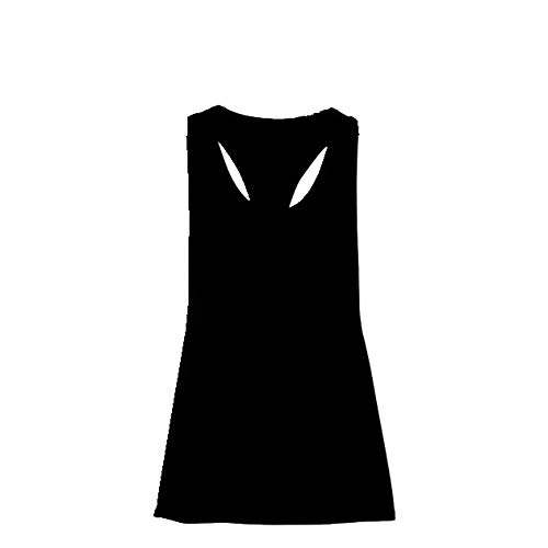 Womens Sporting Vest Tank Fitness Workout Tops,Sleeveless Shirts Exercise Gym Yoga Quick Drying Loose Solid Color T-Shirt