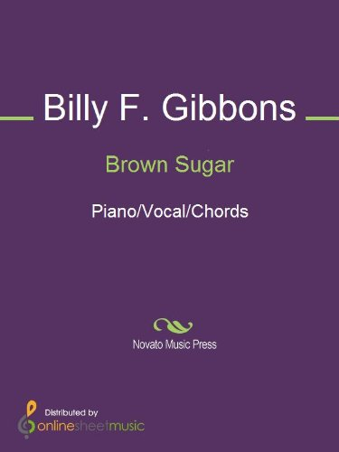 Brown Sugar Kindle Edition By Billy F Gibbons Zz Top Arts