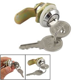 Uxcell Cabinet Metal Single Point Quarter Turn Cam Lock