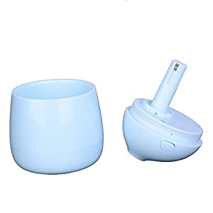 Garden House New design creative cartoon mini Maccaron USB water heater humidifier MCR-005 series (blue)