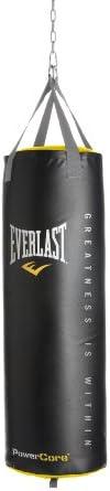 Everlast Black Powercore Nevatear Heavy Bag