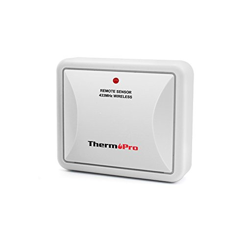 ThermoPro TPR63 Fitting Rainproof Transmitter for TP63 Indoor Outdoor Thermometer Humidity Monitor (Accessory Only, Can NOT Be Used Alone) by ThermoPro
