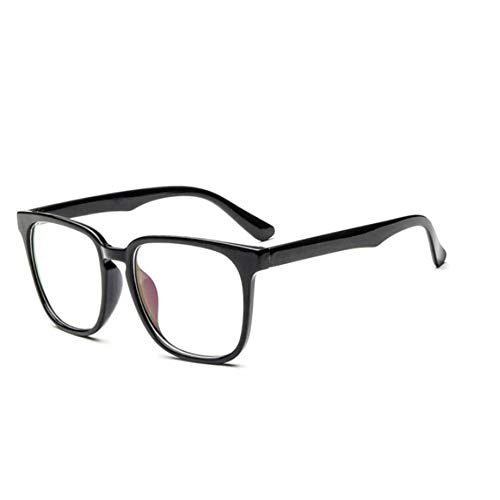 Monture Carrées Féminines Glasses Bright Xcyq Lunettes Cadre Clear Nerd Femmes Vue De Black Grand 1dwHXS