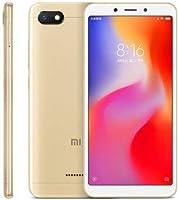 """Smartphone Xiaomi Redmi 6a 16gb 2gb 4g 13mp tela 5,45"""" Dourado"""
