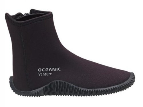 Ocean Pro Venture 5 mm Molded Sole Boots, Black - 13