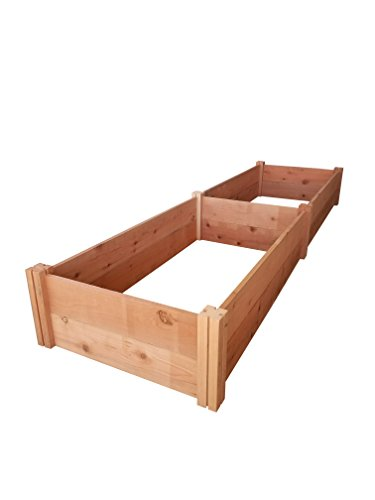 GroGardens 2' x 8' Redwood Raised Garden Bed by GroGardens