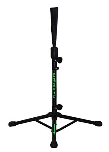 Flair Sports - Pro Series - Portable Compact Travel Hitting Tee for Baseball/Softball - Training Batting Tee for All Ages