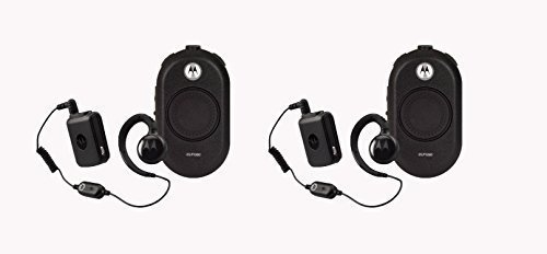2 Pack of Motorola CLP1060 Business Two-Way Radio with Bluetooth 6 Channel 1 Watt by Motorola