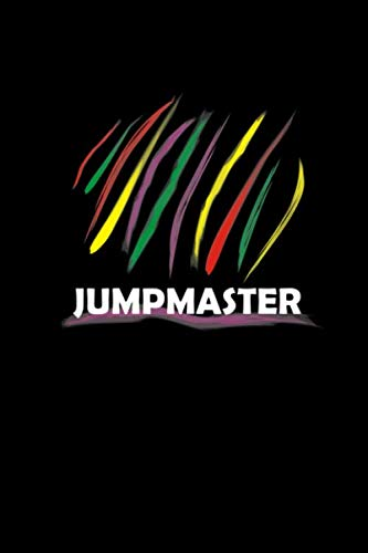 Jumpmaster: Notebook 6x9 Squared For Video Gamer | Gaming Geek & Gamer Nerds Gifts | Online Gaming Accessory Journal & Booklet