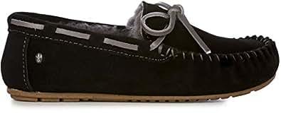 EMU AMITY BLACK SIZE 8