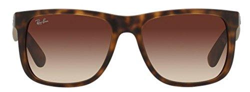 Ray Ban Justin RB4165 710/13 Havana/Brown Gradient 55mm - Glasses Ban Ray Prescription Justin