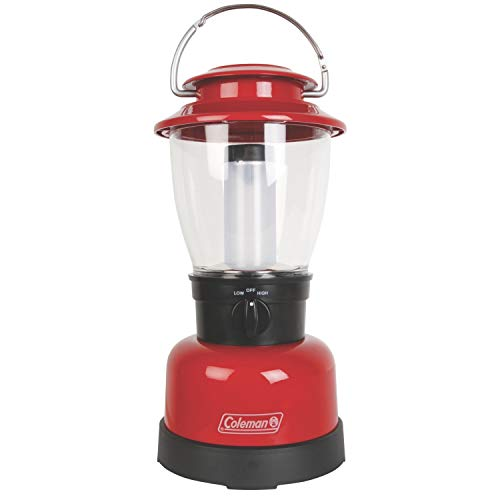 Coleman Carabineer Classic Personal Size LED Lantern, Red (Sale For Lanterns Red)