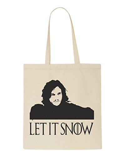 Llegando Bolso Naturales Comprador Mano De Nieve Nieve Deja Sublimación Está Fandom En Invierno Parodia Que Jon RCxnwBqXv