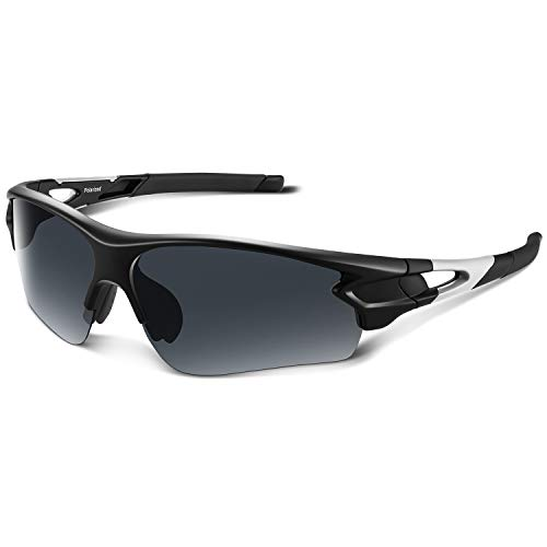 Bea·CooL Tac Polarized sports sunglasses Men Women Youth Baseball Military Motorcycle Running ()