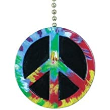 Peace Symbol Ceiling Fan Light Pull