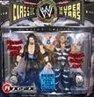 WWE Jakks Pacific Wrestling Classic Superstars Exclusive Action Figure 2-Pack Diesel Kevin Nash & HBK Shawn Michaels