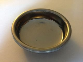 Rancilio 58mm Backflush Disk; Blind Portafilter Basket