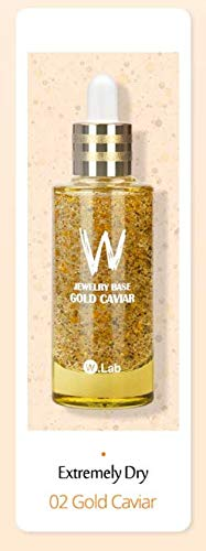 W.LAB Jewelry Base 55ml 1.85 oz/Makeup Base/Facial serum (Gold Caviar)