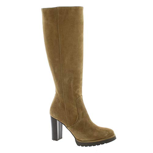Bottes Cuir Camel Bottes Cuir Velours Cuir Camel Pao Pao Bottes Velours Pao q7wP8qz