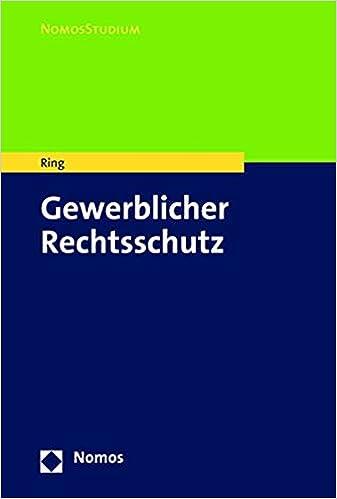 Descargar Libros Gratis Para Ebook Gewerblicher Rechtsschutz Como Bajar PDF Gratis