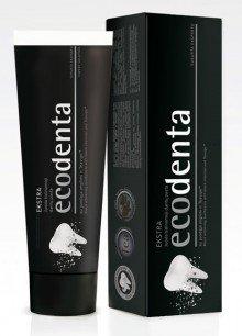 Ecologic Charcoal Black Whitening Toothpaste ecodenta Tooth Paste Teavigo 100g!