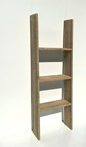 Amazon.com: Rustic Decor Ladder/Free Standing Shelving ...