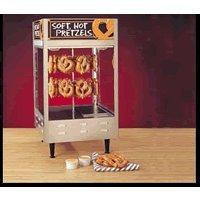 Nemco 6403 36 Pretzel Revolving Pretzel Warmer - Soft Pretzel Machine