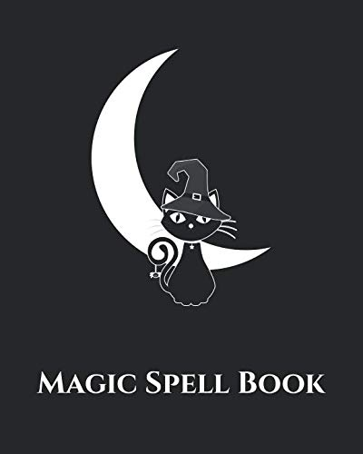 Magic Spell Book: Blank Spell Pages -