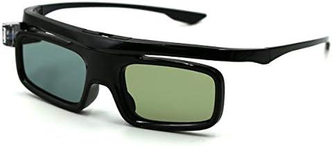 3D Glasses Active Shutter Rechargeable Eyewear for 3D DLP-Link Projectors Cocar Toumei