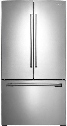 (Samsung RF261BEAESR 25.5 Cu. Ft. Stainless Steel French Door Refrigerator - Energy Star)