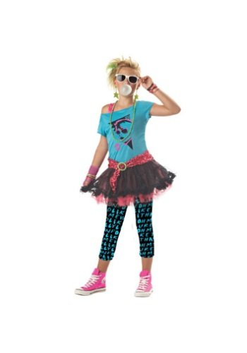 Child/Tween X-Large (12-14) 80s Valley Girl