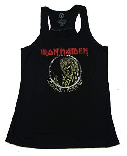 (Iron Maiden Killers World Tour Ladies Black Tank Top Shirt (XL))