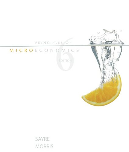 Principles of Microeconomics, 6th edition
