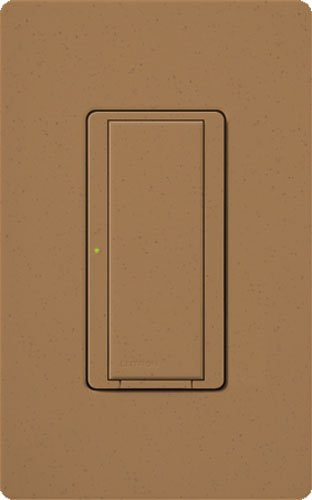Lutron MRF2-8S-DV-TC, Single Pole Preset Switch Light Switch, Terracotta by Lutron