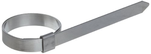 BAND-IT JS2029 Junior 3/8'' Wide x 0.025'' Thick, 1-3/8'' Diameter, 201 Stainless Steel Smooth I.D. Clamp (100 Per Box) by Band-It