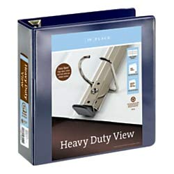Avery Ring Binders 3 (Avery Nonstick Heavy-Duty EZD Reference View 3
