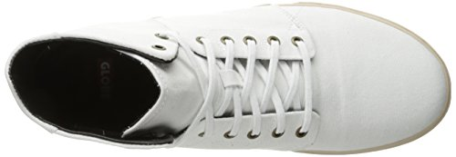 Globe Men's Los Angered TX Skateboarding Shoe White/Off White release dates cheap price fQl3A3H