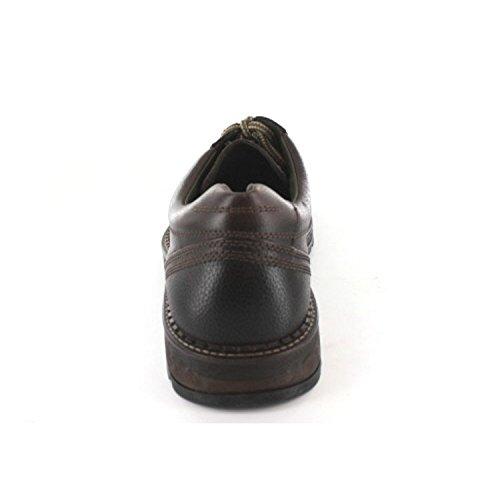 camel active Camel Active Herren Schnürer - Zapatos de cordones de Piel para hombre * * moca