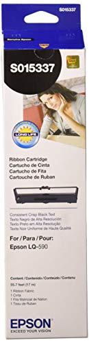 EPSS015337 - Epson Black Ribbon Cartridge