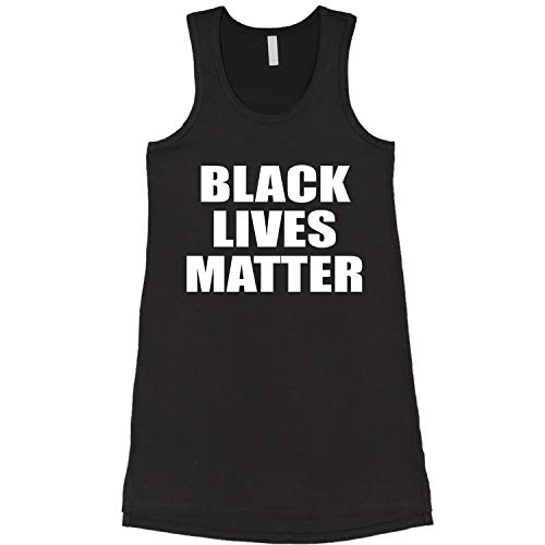 Dress Black Lives Matter Ladies Large Black