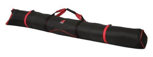 (Athalon New Padded Single Ski Bag Black Red 180cm Model #334 )