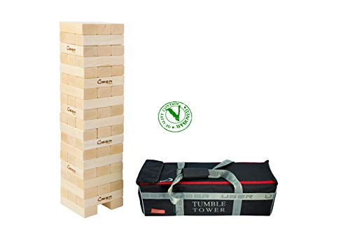 Uber Games Tumble Tower - Giant Pine - Grows from 3 feet to 5 feet