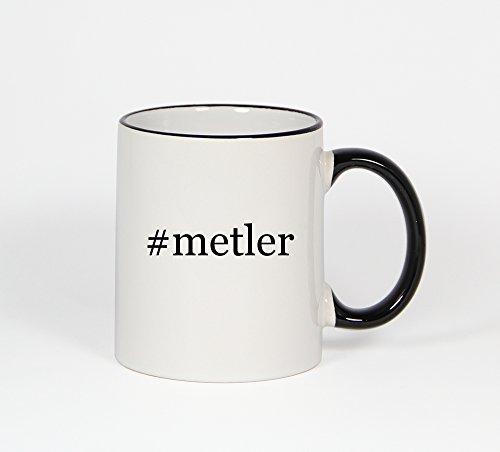#metler - Funny Hashtag 11oz Black Handle Coffee Mug Cup