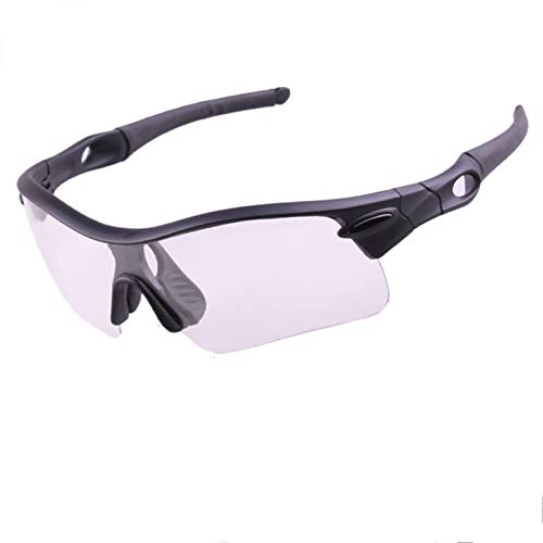 AMDXD PC Verf?rbung Bike Glasses Windproof Sunglasses Cycling Sports Glasses Motorcycle Eyewear for Motorcycle Bike Helmet,Black-Clear&Black&Colorful - Swim Goggles Lens Xp Clear