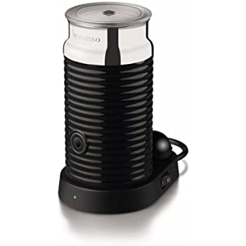 Nespresso 3194-Us-Bk Aeroccino and Milk Frother, Black