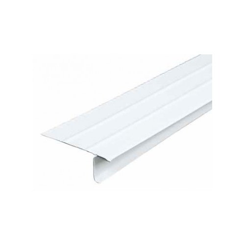 AMERIMAX HOME PRODUCTS 5509900120   10-Feet  White Aluminum Drip Edge (Drip Roofing Edge)
