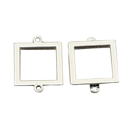 Square Picture Frame Charm - 1