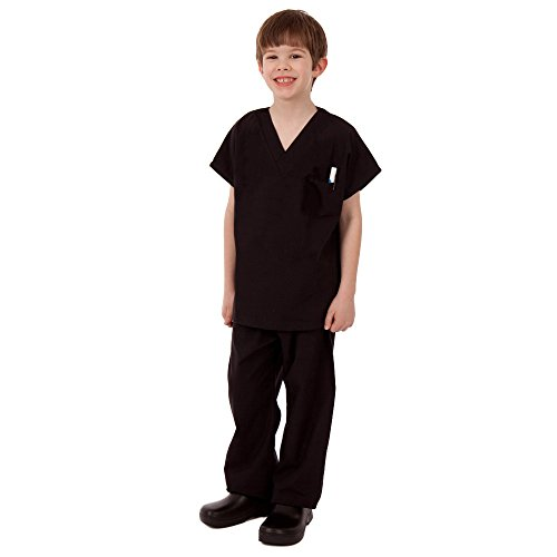 Kids Black Scrub - 1