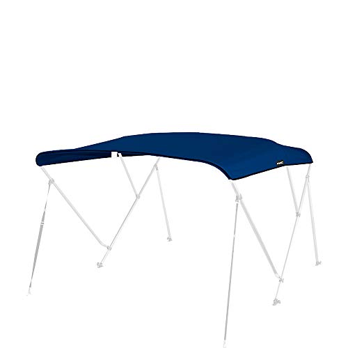MSC 600D Canopy Canvas Replacement Without Poles (Navy, Fits 6'Lx73-78 W 3 Bow Bimini Top) - Tops Canvas Bimini