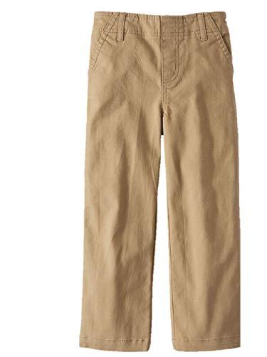 d466bb1d6 365 Kids from Garanimals Boys' Solid Woven Pants Stretch Sizes 4-8 (Tan